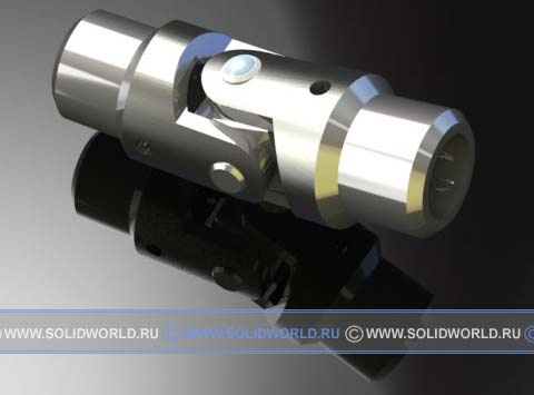 модель solidworks - муфта шарнирная