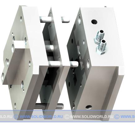 3d модель пресc-формы