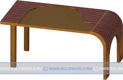 3d модель стола