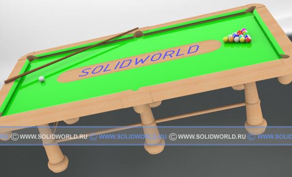 модель бильярдного стола